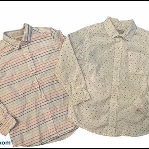 ✨3 for $30✨5T Boys Long Sleeve Button Down Shirts
